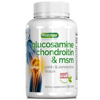 Quamtrax Nutrition Glucosamine Chondroitin & MSM 90 таб