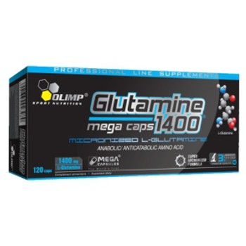 Olimp L- Glutamine Mega Caps 120капс.