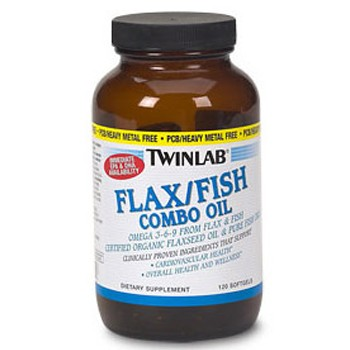 Twinlab Flax/Fish Combo Oil 120 капс.
