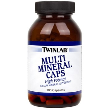 Twinlab Multi Mineral Caps 180 капс.