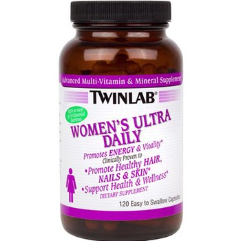 Twinlab Women's Ultra Multi Daily 120 капс