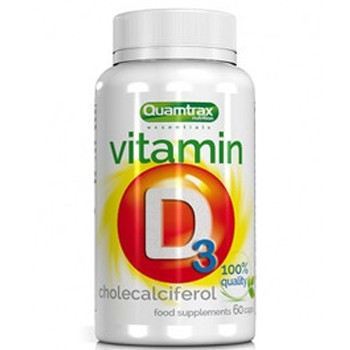 Quamtrax Nutrition Vitamin D3 60 капс