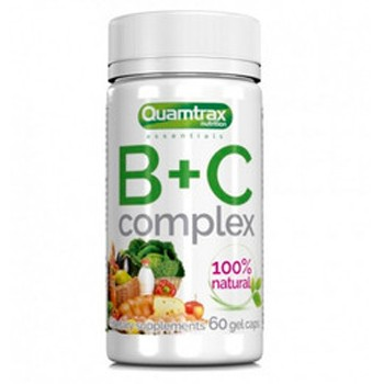 Quamtrax Nutrition  B+C Complex 60 капс