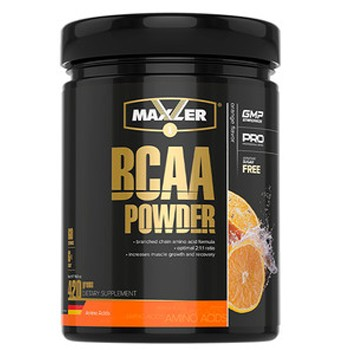 Maxler BCAA Powder без сахара 420 г